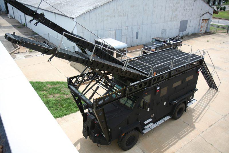 Bear Mars Lenco Armored Vehicles