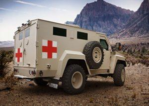 Lenco BearCat MedEvac - Military and International - Lenco Armored Vehicles