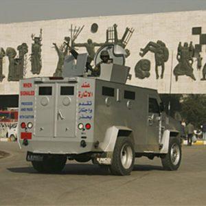Blackwater BearCat - Iraq - Lenco Armored Vehicles