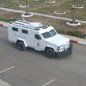 Tammy Light - Morocco -Lenco Armored Vehicles