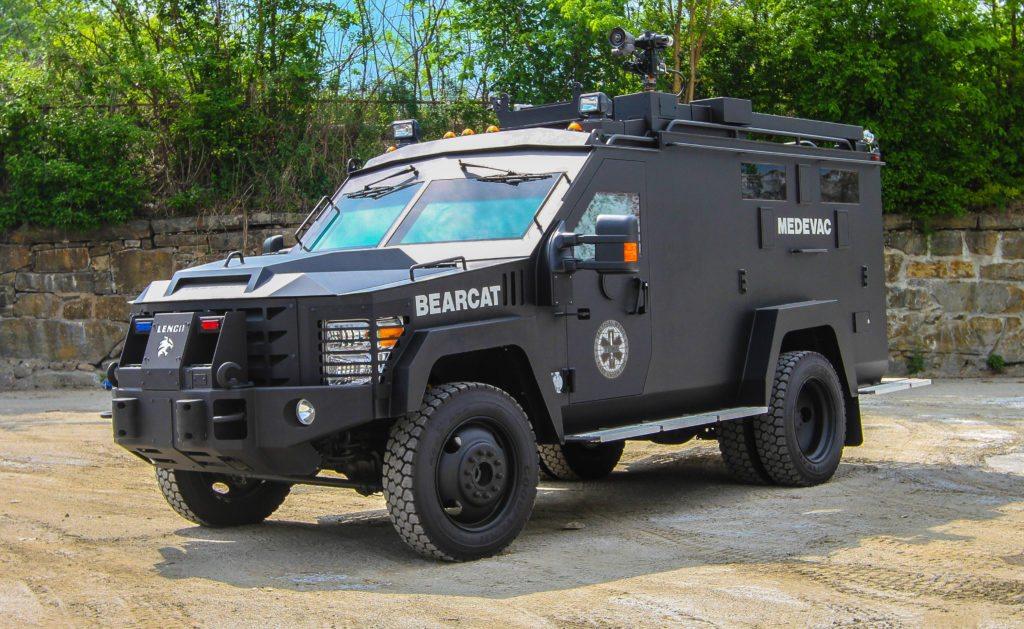 Bearcat Medevac G2 Lenco Armored Vehicles