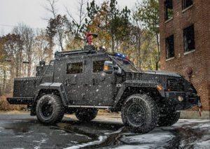 Lenco X3 FireCat - Police Fire EMS - Lenco Armored Vehicles