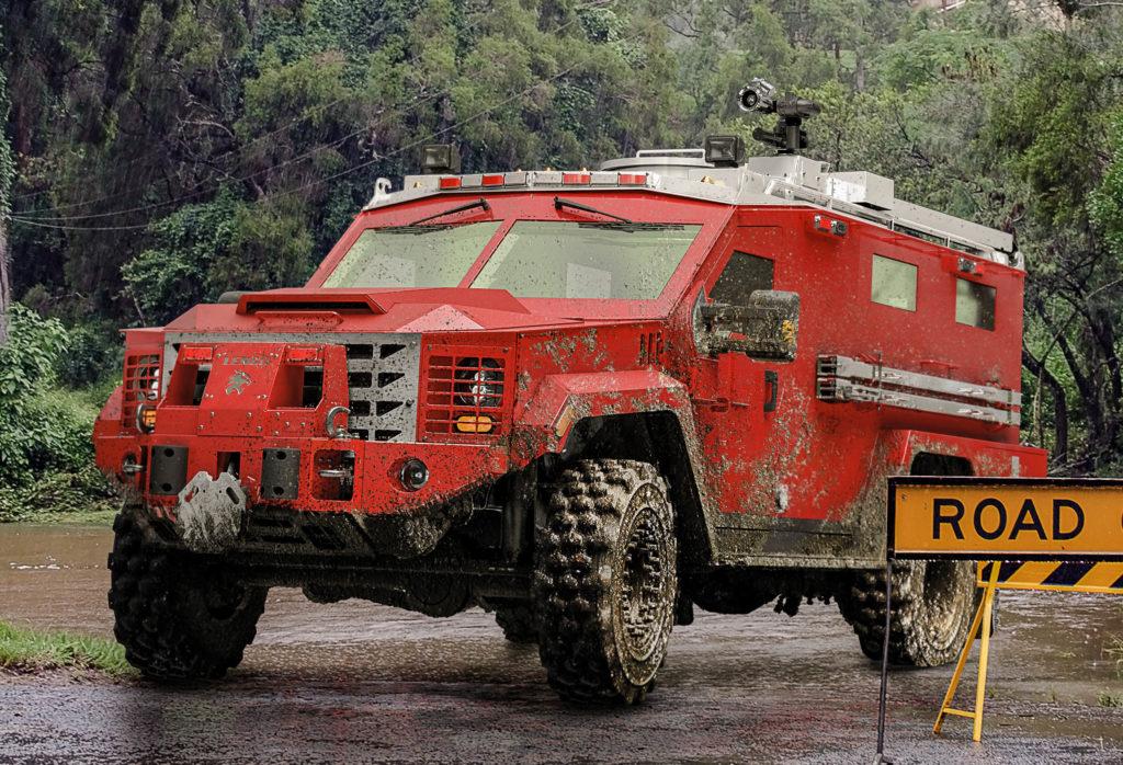 BearCat MedEvac G3 - Lenco Armored Vehicles