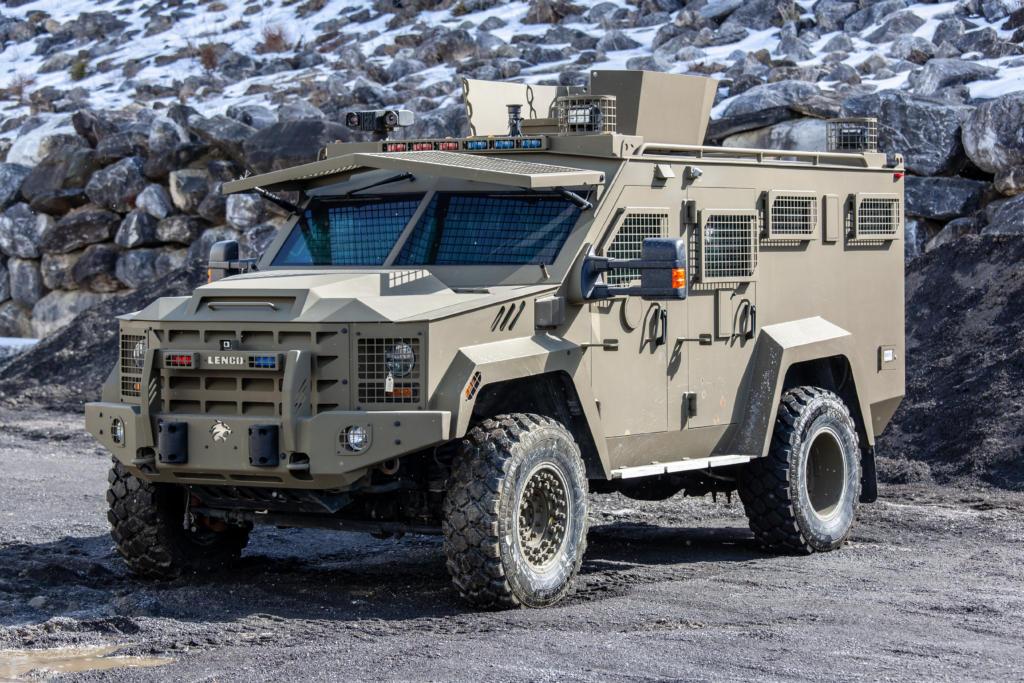 Bearcat G3 Lenco Armored Vehicles