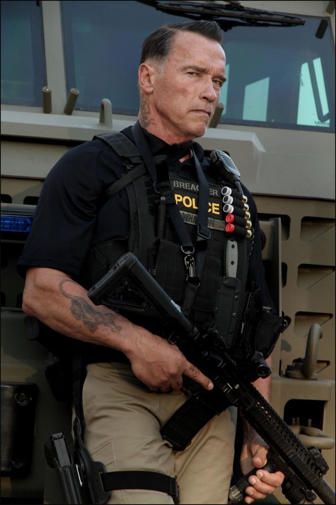 Arnold Schwarzenegger and BearCat