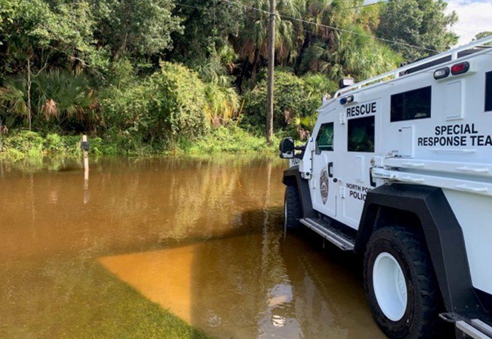 Lenco BearCat® G3: Crucial for Hurricane Water Rescues